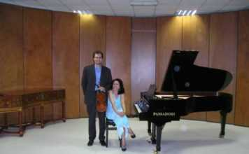 "Concerto ""The Italian  chamber music for violin and piano a Brno il 20 aprile 2016"