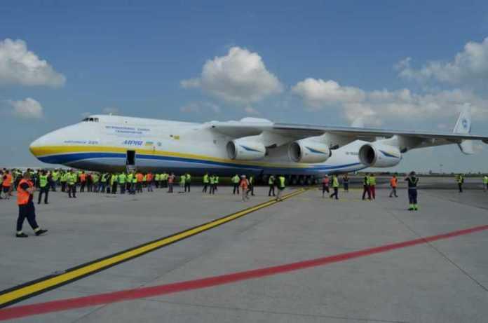 Gallery: Antonov An-225 a Praga