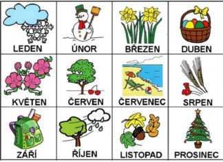 Ceco in pillole #3: i mesi dell'anno in ceco e il loro significato