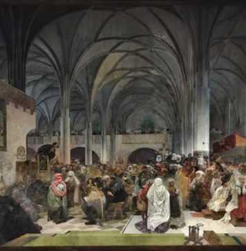 Festività ceche: 6 luglio, il rogo di Jan Hus
