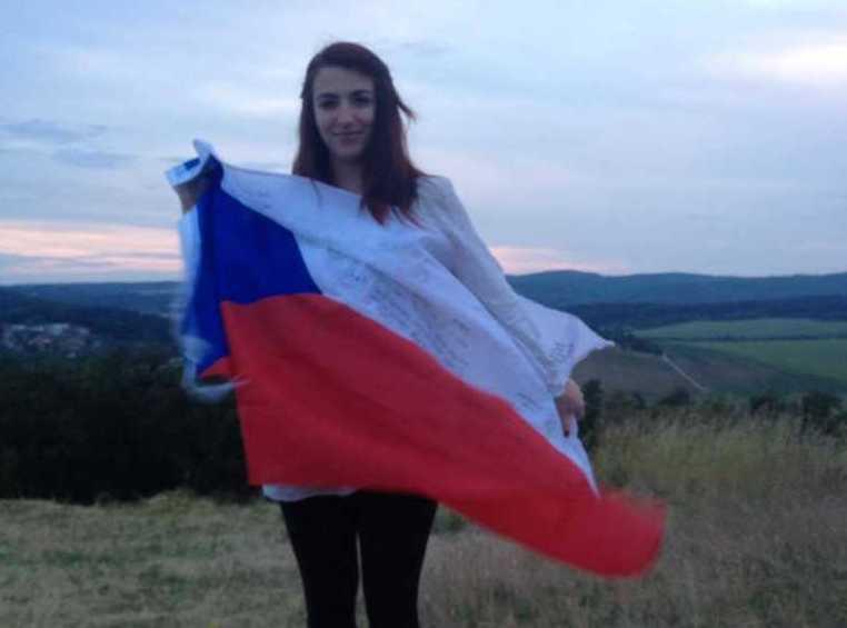 Mery G. Montalbano studentessa italiana a brno in repubblica ceca