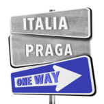 Logo di Italia Praga one way
