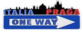 italia praga one way logo 2016