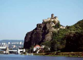 Città ceche: Ústí Nad Labem, natura industrializzata