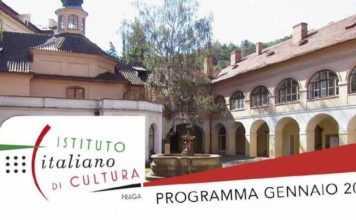 Programma di gennaio 2017 dell'istituto italiano di cultura di Praga
