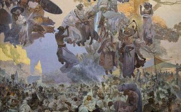 Arte ceca: l'Epopea Slava di Mucha