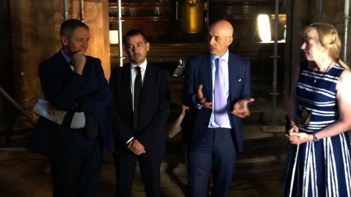 Italia-Repubblica Ceca: presentazione avanzamento lavori di restauro della Cappella italiana a Praga