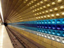 Il significato nascosto dei colori delle stazioni della metro di Praga