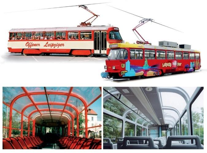 Un tram con tetto panoramico presto sulle strade di Praga