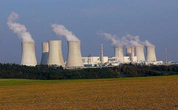 Centrali nucleari ceche Dukovany Temelín