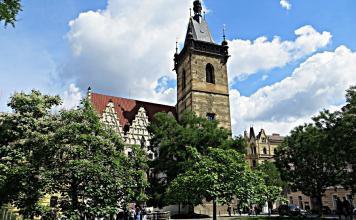 Municipio della Città nuova, dove avvenne la defenestrazione