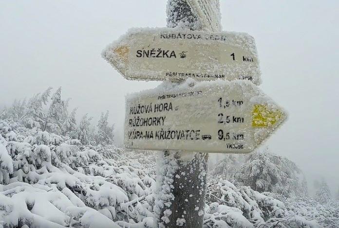 Sněžka_Krkonoše_Cambiamento climatico