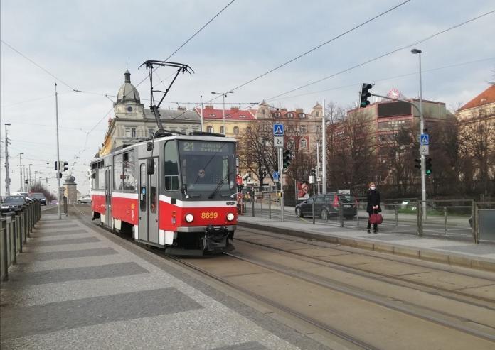 Tram Praga Disinfezione