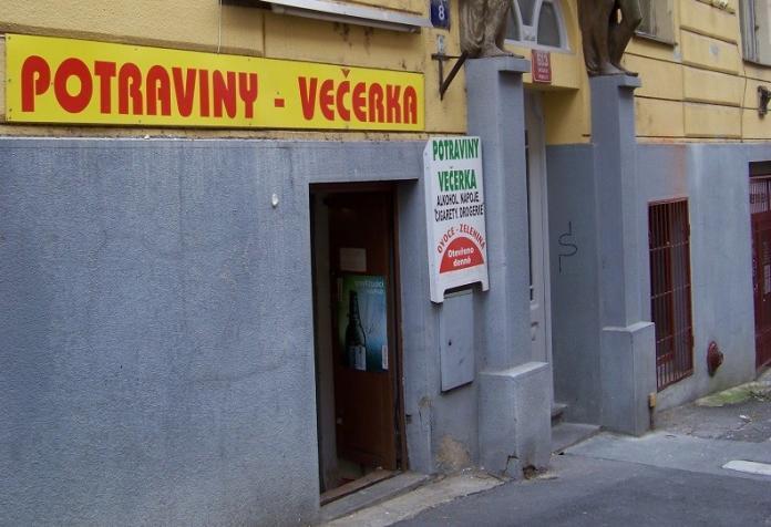 Praga Večerka Potraviny