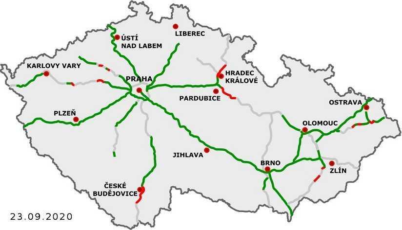 Autostrade ceche