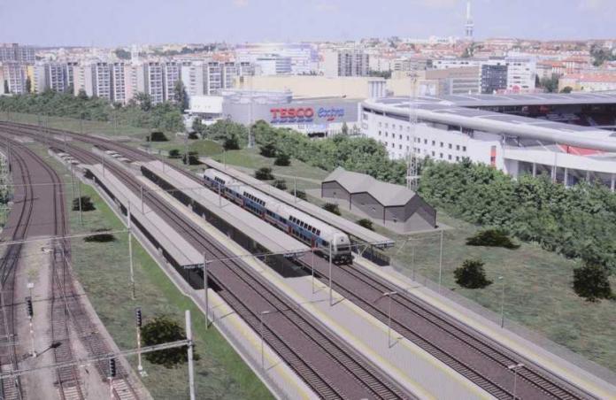 La nuova stazione di Praga Eden