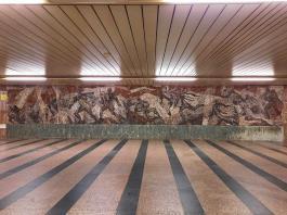 Florenc arte in metro linea rossa linea c