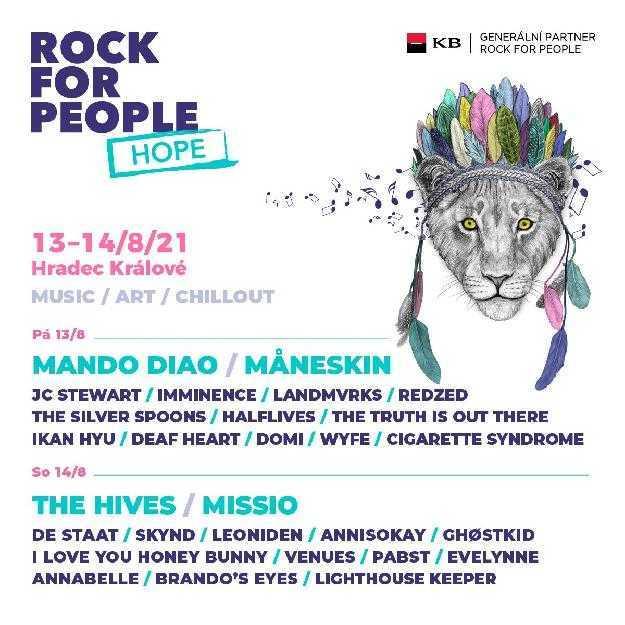 Måneskin I Rock for People